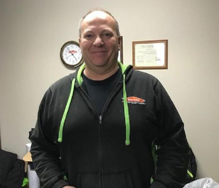 Why SERVPRO Employee Spotlight:  David Cook